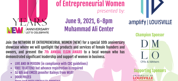 NEW 2021 Showcase of Entrepreneurial Women